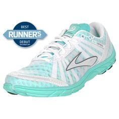 Brooks Pure Connect Women's Running Shoes| FinishLine.com | White/Mint Green