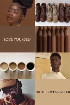50 Shades of Melanin - blvckboymagick: Black aesthetic: Brown (I do not. Art Hoe Aesthetic, Aesthetic Drawing, Black Girl Aesthetic, Brown Aesthetic, Aesthetic Collage, Aesthetic Makeup, Aesthetic Painting, Aesthetic Outfit, Aesthetic Clothes