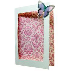 White A5 Rectangular Aperture Cards - Essentials - Papercrafts - Home Craft
