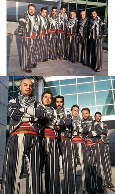 Traditional costumes from the Van province. Model: 20th century, and still in use. Ethnic Group: Kurdish. These are recent workshop-made copies, as worn by folk dance groups. (Source: Urartu Sanat Halk Dansları, Van).