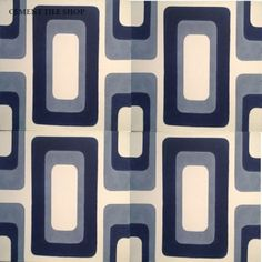 Seaisland tile, Oceana Collection - Cement Tile Shop         love these too many to choose from!!!