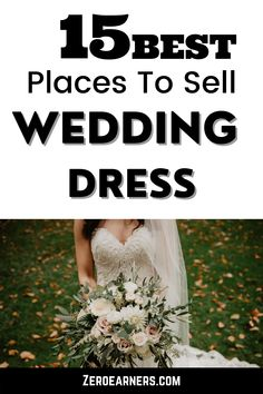 Are you interested to sell your wedding dress online? If the answer is yes, then here are the 15 best places to sell your wedding dress online. #sellstuffonline #sellweddingdress #weddingdress Sell Used Stuff Online, Sell Stuff, Sell Your Wedding Dress, Wedding Dresses, How To Find Out, How To Make Money, Home Based Business Opportunities, Selling Online, Dress Online