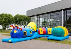 Inflatable Long Tunnel Structure