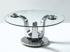 Glass Table Top Round