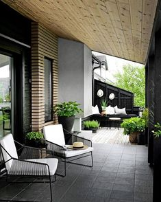 51 Magnificent Rooftop Terrace Ideas - Balcony Decoration Ideas in Every Unique Detail Urban Garden Design, Decor Interior Design, Interior Decorating, Architecture Design, Small Balcony Design, Balcony Furniture, Outdoor Living, Outdoor Decor, Interior Exterior