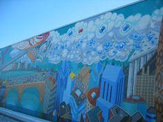 1000 images about mural project on pinterest wall for Best projector for mural painting