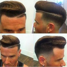 Cool men's hairstyle
