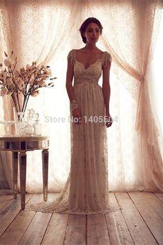 Mermaid Floor length Wedding Dresses 2015 New Court Train Tulle Fold Backless Deep V Neck Pearls Beads Homecoming pleats long