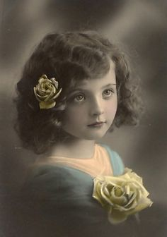Vintage little girl