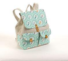 мастер-класс по пошиву текстильного городского рюкзака