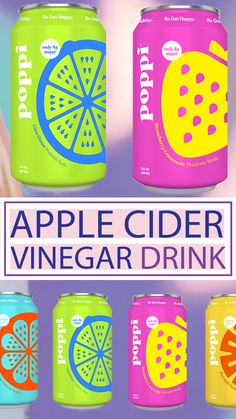 Feb 2020 - Make sure to check out the delicious Poppi beverages. A healthy soda infused with all of the benefits of apple cider vinegar. Recently rebranded from Mother Beverage, Poppi is your new favorite drink product! Best Apple Cider Vinegar, Apple Cider Benefits, Natural Cough Remedies, Cold Home Remedies, Sleep Remedies, Homeopathic Remedies, Natural Cures, Health Remedies, Natural Health