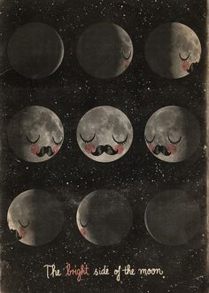 Mokkasin: the bright side of the moon.