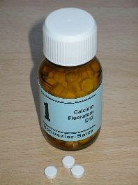 Schüssler sal: 1. fluorita Calcio