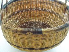 Wicker basket by trey15 on Etsy, $40.00