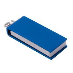 USB KLJUČ MINI SWIVEL Spoznajte najmanjšega! USB ključ je z dimenzijami 33 x 12 x 6 mm natanko polovico manjši od že znanih modelov. Nova generacija USB ključkov iz eloksiranega aluminija je odporna na vodo in prah. USB ključ je na voljo v 8 barvah srebrna, črna,rdeča, vijolična, zelena, kobaltno modra, roza in zlato, se lahko označi z laserskim graviranjem na eni ali obeh straneh. Na voljo so kapacitete 2, 4 ,8, 16 GB.  www.toda.si