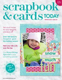 2010 - winter - past scrapbook and cards magazine