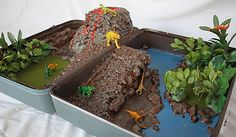 Dino land suitcase