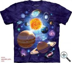 The Mountain You Are Here Sun Galaxy T-shirt This is a Cotton T-shirt featuring a universe of planets and stars. Cotton Youth Sizes This is a Cotton T-shirt featuring a universe of planets and stars.