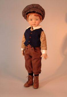1905 School Boy & Girl Outfits for Little par PatternsByNedra