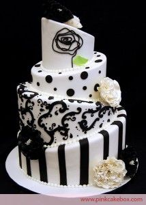 I love black and white together.