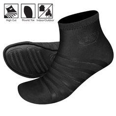 Original Playa High Round Toe Minimalist Shoes in Black/Black – All Weather Goods.com