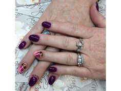 Fall Grapes Nails by Anthony