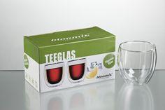 Teeglas Tunis 2er-Set Corning Glass, Gift Wrapping, Packaging