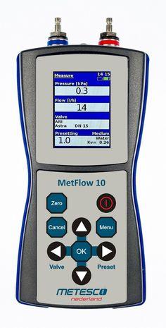 Metesco TA inregelafsluiters flowmeters zijn er voor het inregelen van zelfregelende kleppen worden ingezet en worden vooral gebruikt om de vloeistofstroom van een gas of vloeistof te in te regelen. Voorbeelden hiervan zijn drukregelaars en door middel van vlotters bediende kleppen.