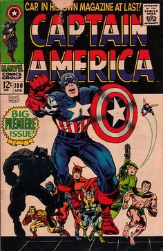 Captain America 100 - Stan Lee and Jack Kirby