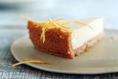 Passover Lemon Cheesecake Recipe  | Epicurious.com