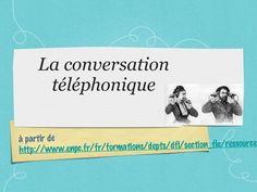 La conversation téléphonique