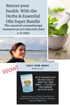 All the best resources for 95% off! 5 days only! Ebooks, ecourses, printables, etc. Essential Oil Safety, Essential Oils Guide, Herbal Remedies, Natural Remedies, Cognitive Behavior, Organic Superfoods, Productive Day, Natural Energy, Natural Skin Care