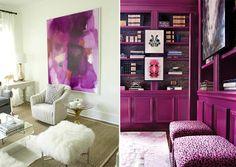 Trendy 2014 Projektowanie wnętrz : RADIANT Orchid colorem roku PANTONE | Dom-wnetrze