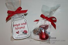 Stuck on Stampin': bugs and kisses on valentine's day!