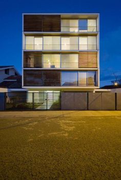 Modern Apartment Building on Modern Apartment Building by Duran & Associates…