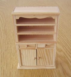 Handmade Wooden Cabinet Furniture Model Nostalgic Antique Home Rustic Ornament Mini