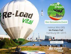 ReLoad Vital - Frische Kommunkation für frische Marken schafft es in bundesweite TV Nachrichten....