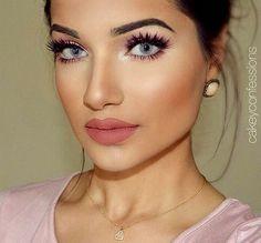 Flushed Cheeks Makeup Look