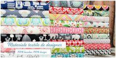 Materiale textile de designer - 100% bumbac, 100% design