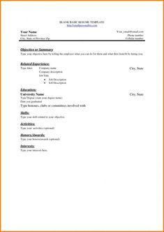 Resume Templates In Ms Word 12 Resume Templates For Microsoft Word Free Download  Pinterest .
