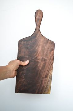 Black walnut  Wood Handle french Cheese breakfast board sandwich board cutting board Kitchen gourmet farmhouse serving-wedding gift