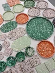 Decor Crafts, Fun Crafts, H&m Home, Air Dry Clay, Clay Projects, Resin Crafts, Terrazzo, Home Collections, Surface Design