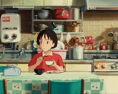 food in ghibli