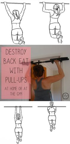 In this episode of Exercise of the Week we're featuring an amazing, full-body move: Pull-Ups! Don't shy away from these, no matter what your ability level! Destroy back-fat and sculpt a lean silhouette with this move! Check out the why and the how, here.   #fitness #fitfam #pullups #backexercises #fitchicks #fitwomen #workout #weightloss #fitfam #fitness #fitspo #inspo #fitchicks #exercisedaily #wcw #squats #booty #abs #goals #motivation #instadaily #bestoftheday #health #fitnessaddict…
