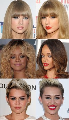 Celebrities Look Better with Red Lipstick