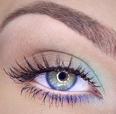 """25 Spring Makeup Looks and ideas 2015 are all here now! If you want to catch up with latest and exclusive """"Spring Makeup Looks then check out these cur. Pretty Makeup, Love Makeup, Makeup Inspo, Makeup Inspiration, Makeup Tips, Makeup Looks, Hair Makeup, Green Makeup, Makeup Hairstyle"""