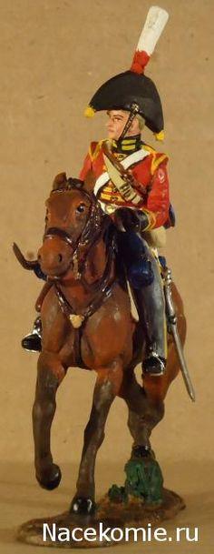 Private, 2nd Regiment King's German Dragoon, 1812 Del Prado: Cavalry of the Napoleonic Wars