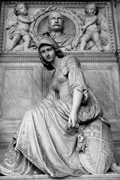 Giovanni Battista Lombardi (Italian, 1822-1880) Tomb dedicated to Peter Magenta, Certosa di Bologna