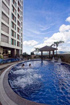 Suncourt Pool at Crown Regency Hotel and Towers - Cebu