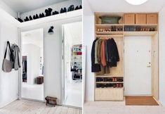 Planken leveren flink wat extra opbergruimte op en gebruiken hoge ruimtes nuttig.